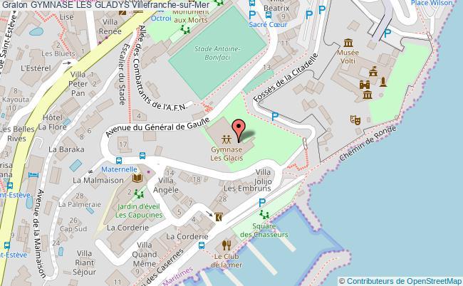 plan Terrain De Boules Du Gymnase Des Gladys