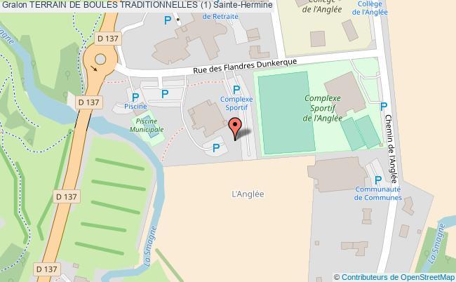 plan Terrain De Boules Traditionnelles