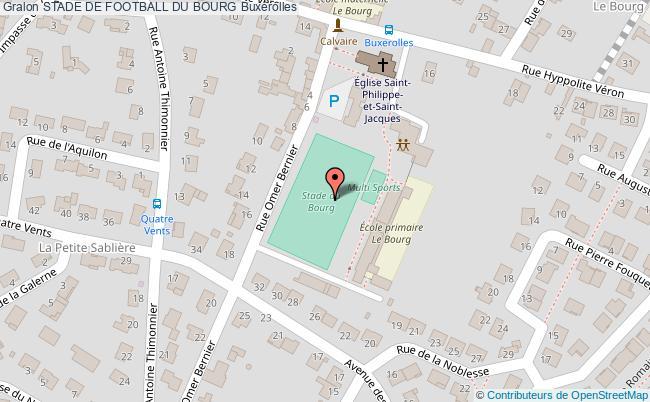 plan Terrain De Football Du Bourg