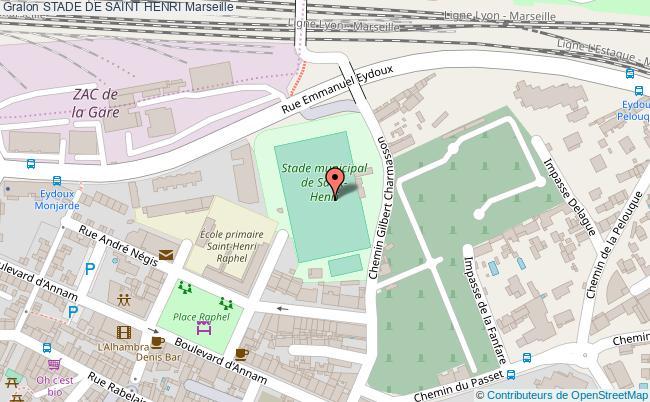 plan Terrain De Football St Henri