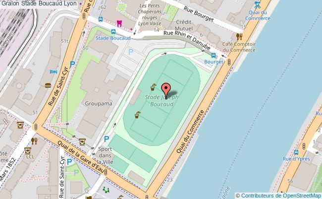 Terrain de football stade boucaud lyon for Terrain lyon
