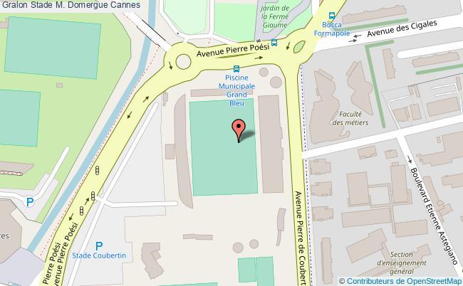 plan Terrain De Football Stade Domergue