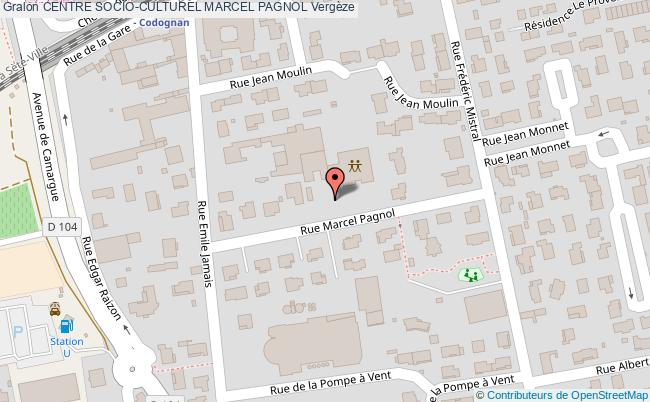 plan Terrain De Petanque Du Centre Socio-culturel Marcel Pagnol