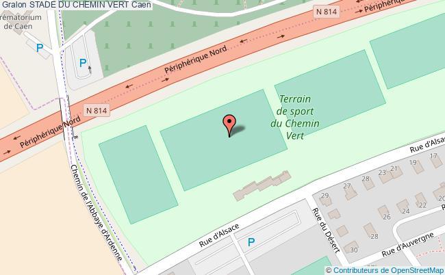 Terrain de rugby d 39 honneur stade du chemin vert caen - Piscine chemin vert caen ...