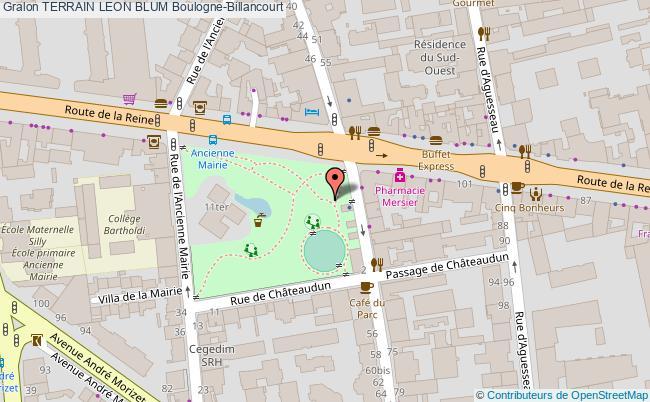 plan Terrains De Boules
