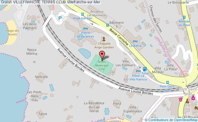 plan Villefranche Tennis Club