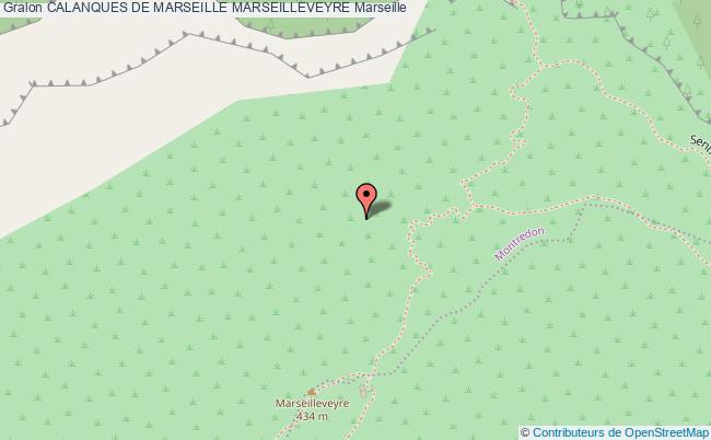 plan Voies D'escalade De Marseilleveyre