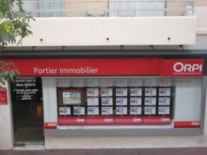 Agence immobilière ORPI à Antibes.