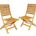 Lot 2 chaises DUBLIN