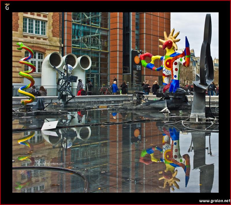 Zoom photos - Fontaine beaubourg niki de saint phalle ...