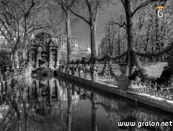 Photo fontaine m dicis jardin du luxembourg paris photos historiques paris - Comment aller au jardin du luxembourg ...