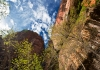 Photo Zion National Park, sous un certain angle