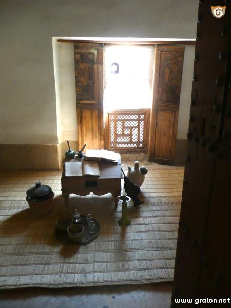 Photo une chambre d 39 tudiant dans la medersa for Chambre metiers 13