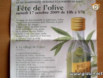 Photo d pliant de la f te de l 39 olive photos m tiers nice - La maison de l olive nice ...