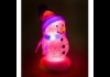 Photo Bonhomme de neige led USB