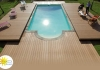 Photo Couverture Mobile de Piscine - Abri plat Pooldeck