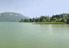 Photo Hotel et lac d'Aiguebelette