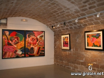 Photo galerie d'art contemporain photos lieux de visites auvers-sur