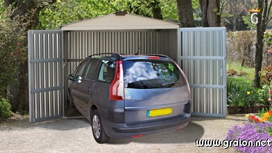 Zoom photos for Abri garage metal