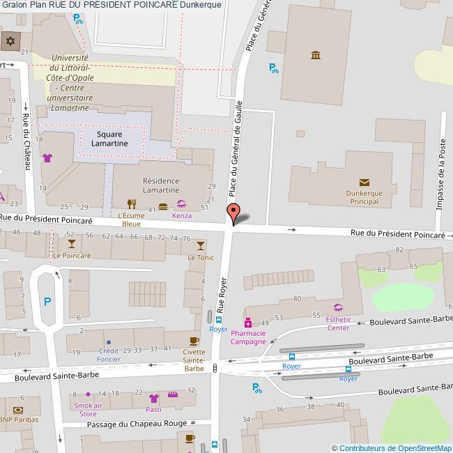 ad417afdebe41a Rue du PRÉSIDENT POINCARÉ Dunkerque