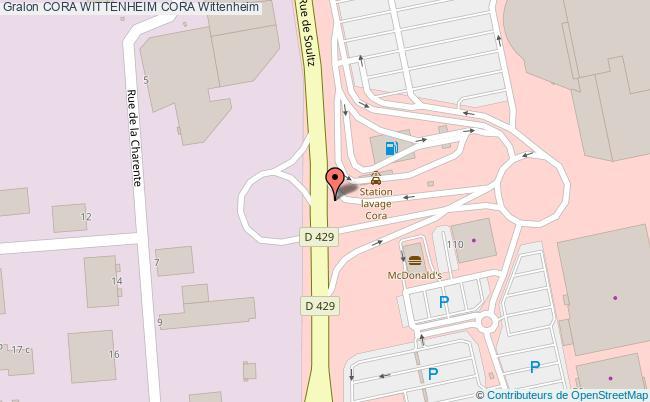 Carte Cora Essence.Station Cora Wittenheim Essence Cora Wittenheim