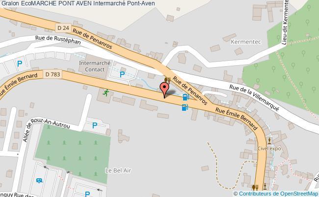 Station Ecomarche Pont Aven Essence Intermarche Pont Aven