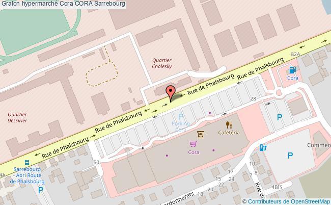 Carte Cora Essence.Station Hypermarche Cora Essence Cora Sarrebourg