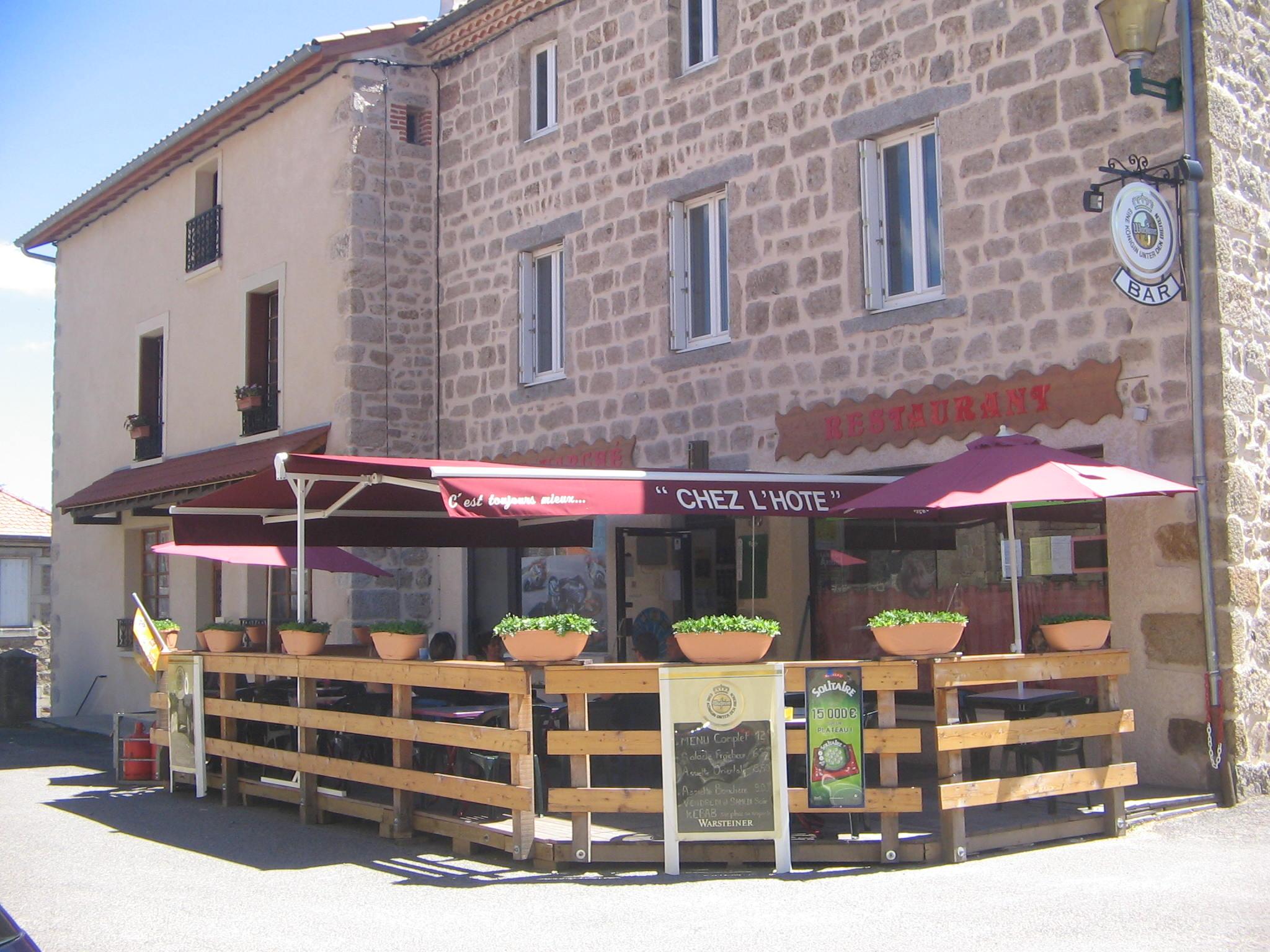 Restaurant Au Grandgousier Craponne sur arzon