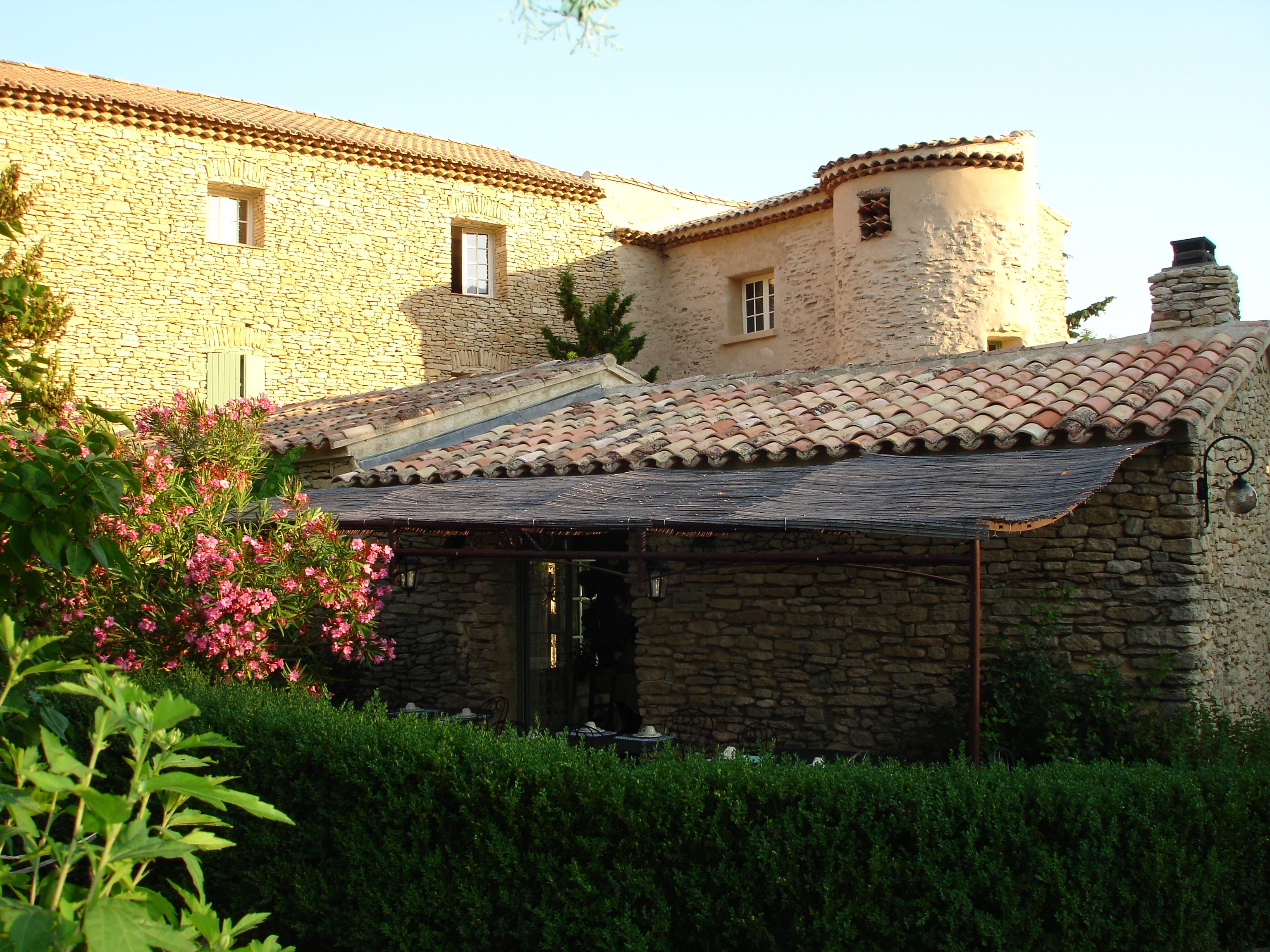restaurant fran§ais La Villa du Roque La Roque Gageac