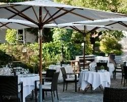 Restaurant la pergola le mas candille mougins for Le jardin mougins