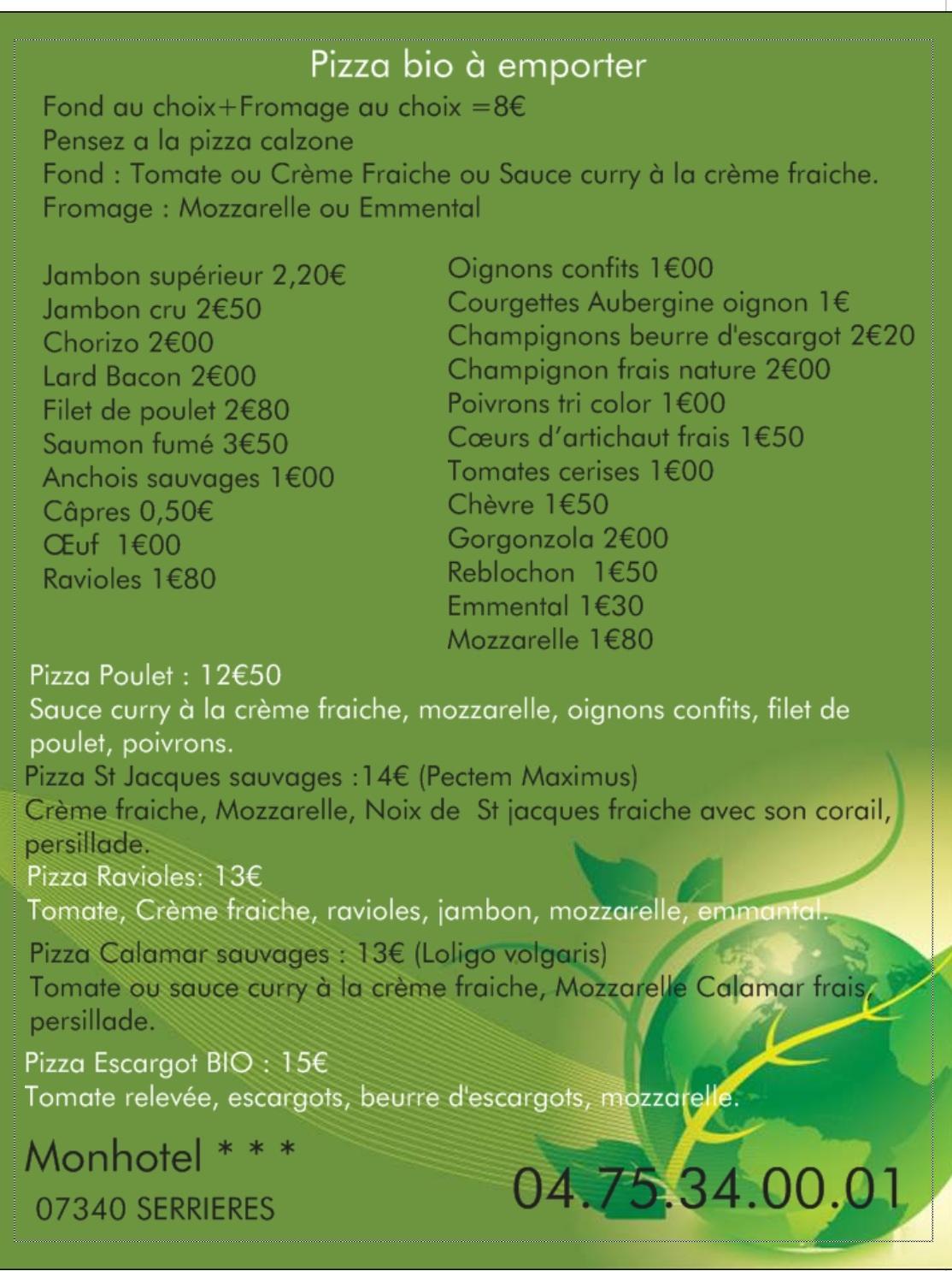 Restaurant Du Parc Serri U00e8res