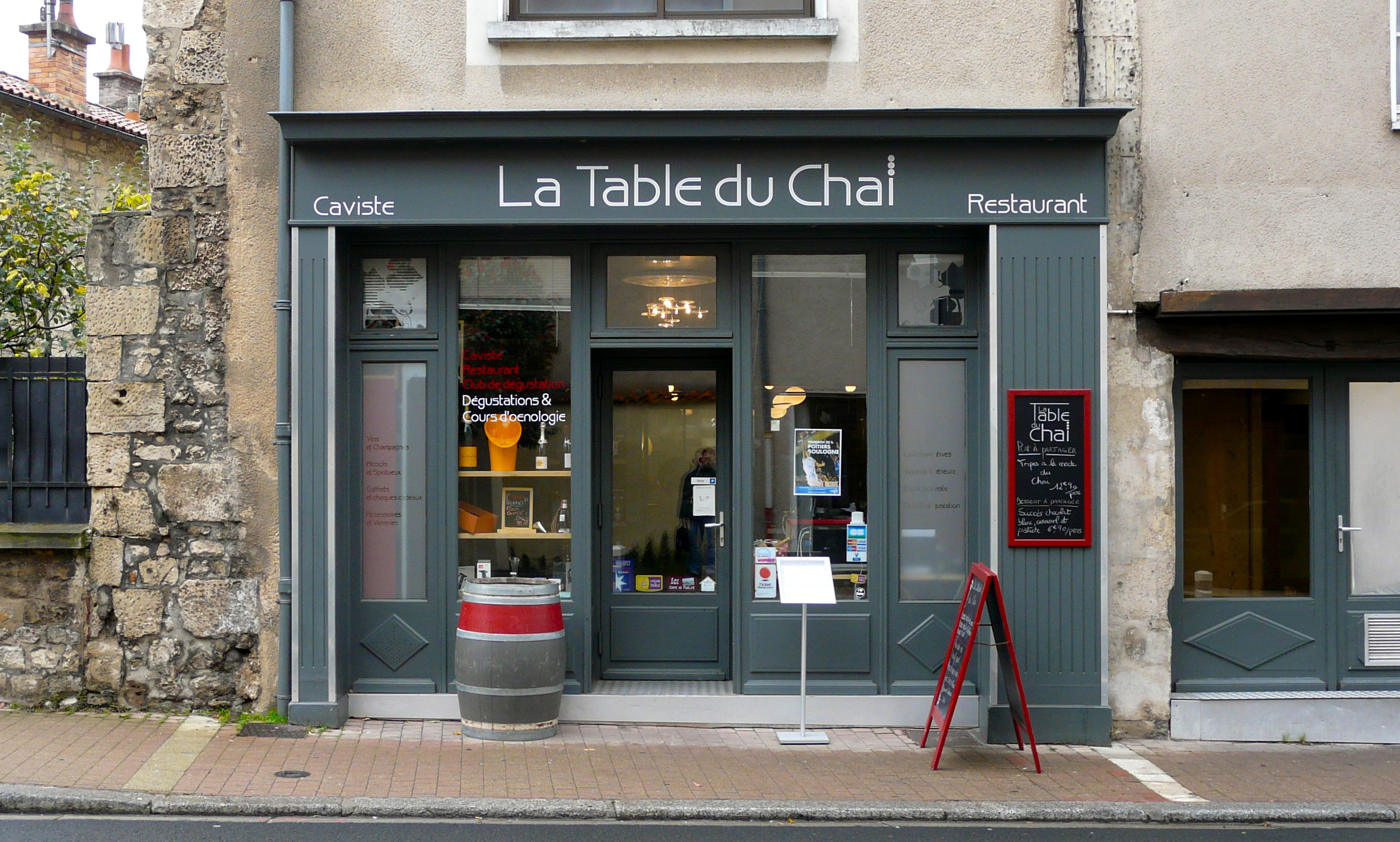 Restaurant le 16 carnot poitiers for La table parisienne poitiers