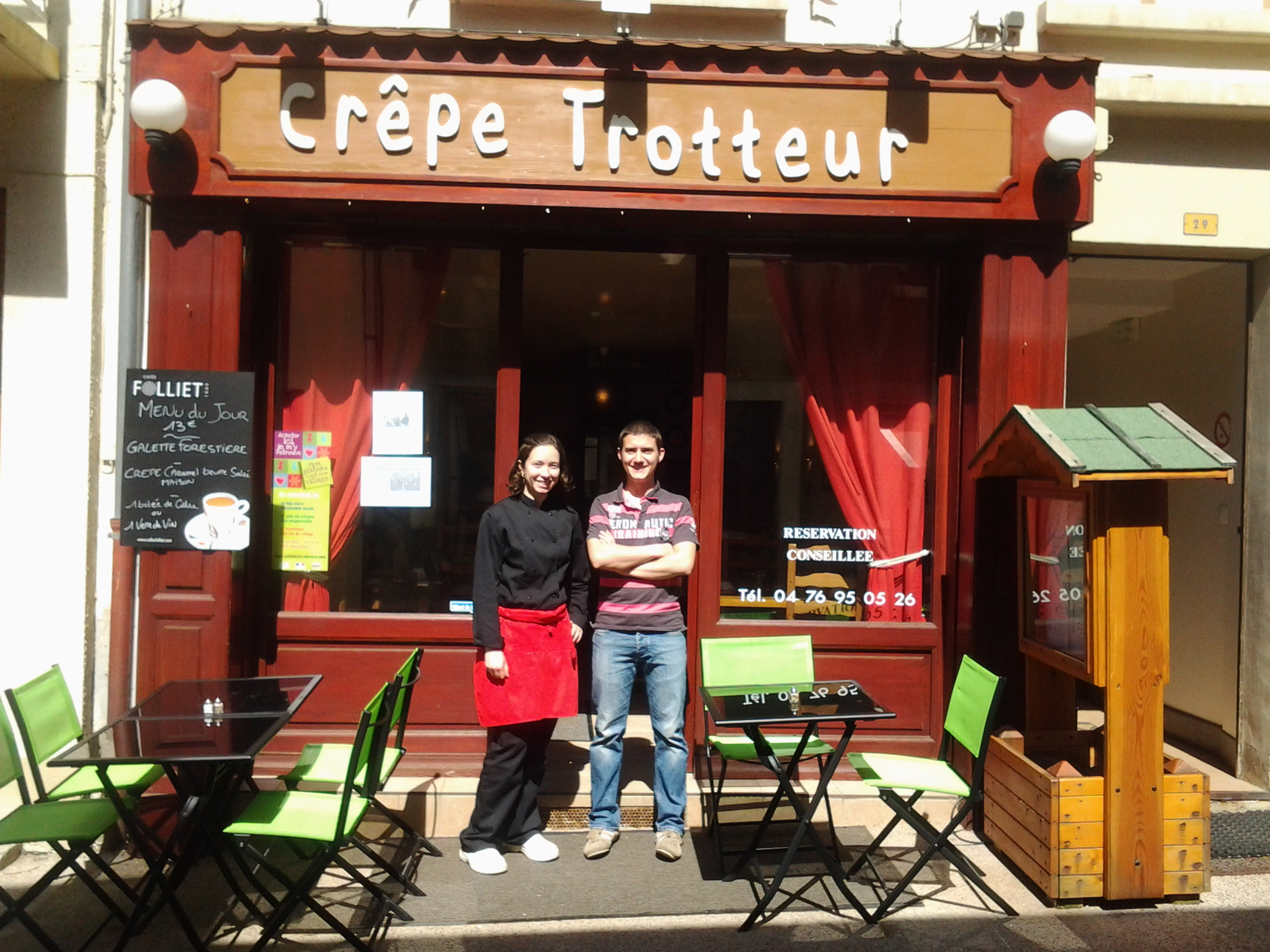 restaurant fran§ais Le Fairway Villard de Lans