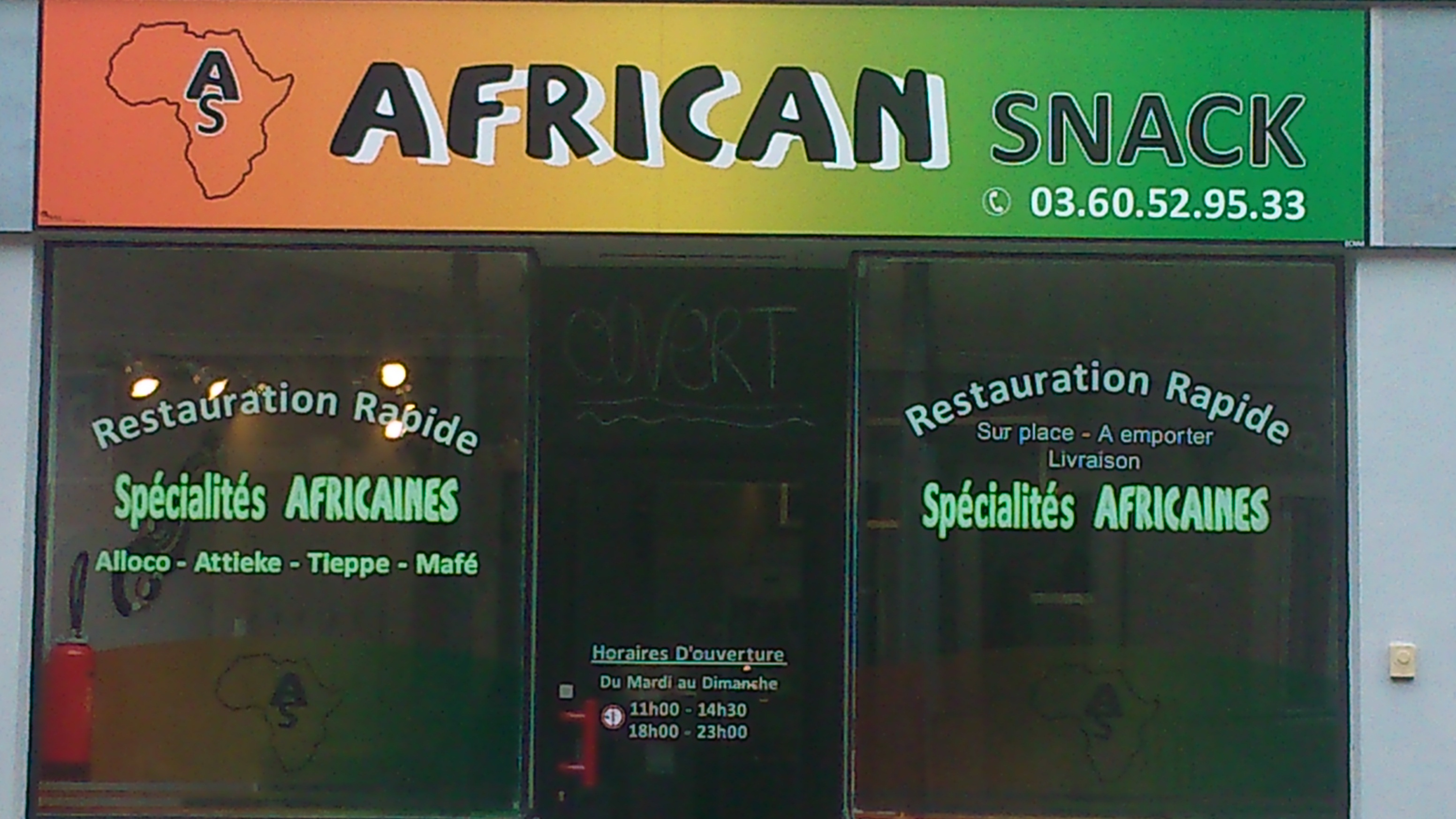 African Snack  Saint-quentin
