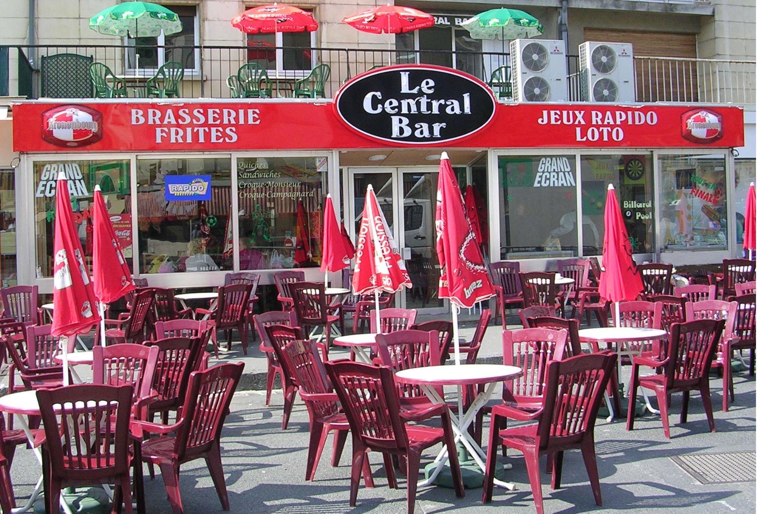 Restaurant fanfood sedan - Bar le central ...