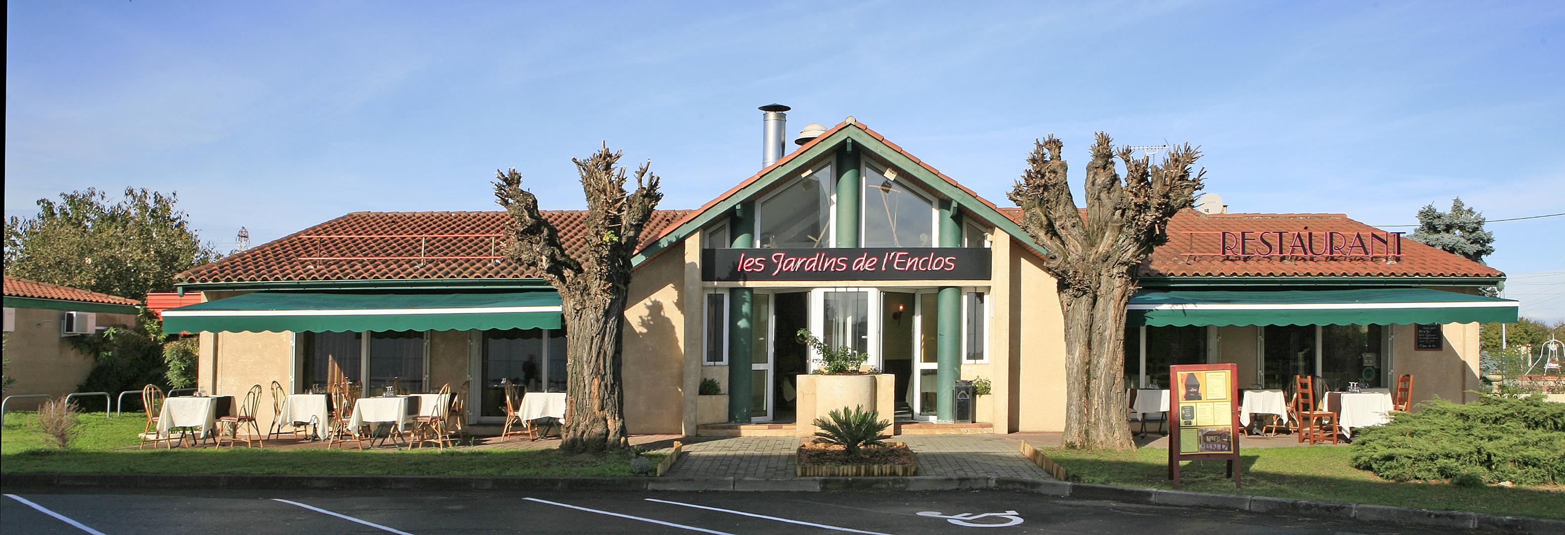 Restaurant blanc traiteur toulouse - Les jardins de l enclos portet sur garonne ...