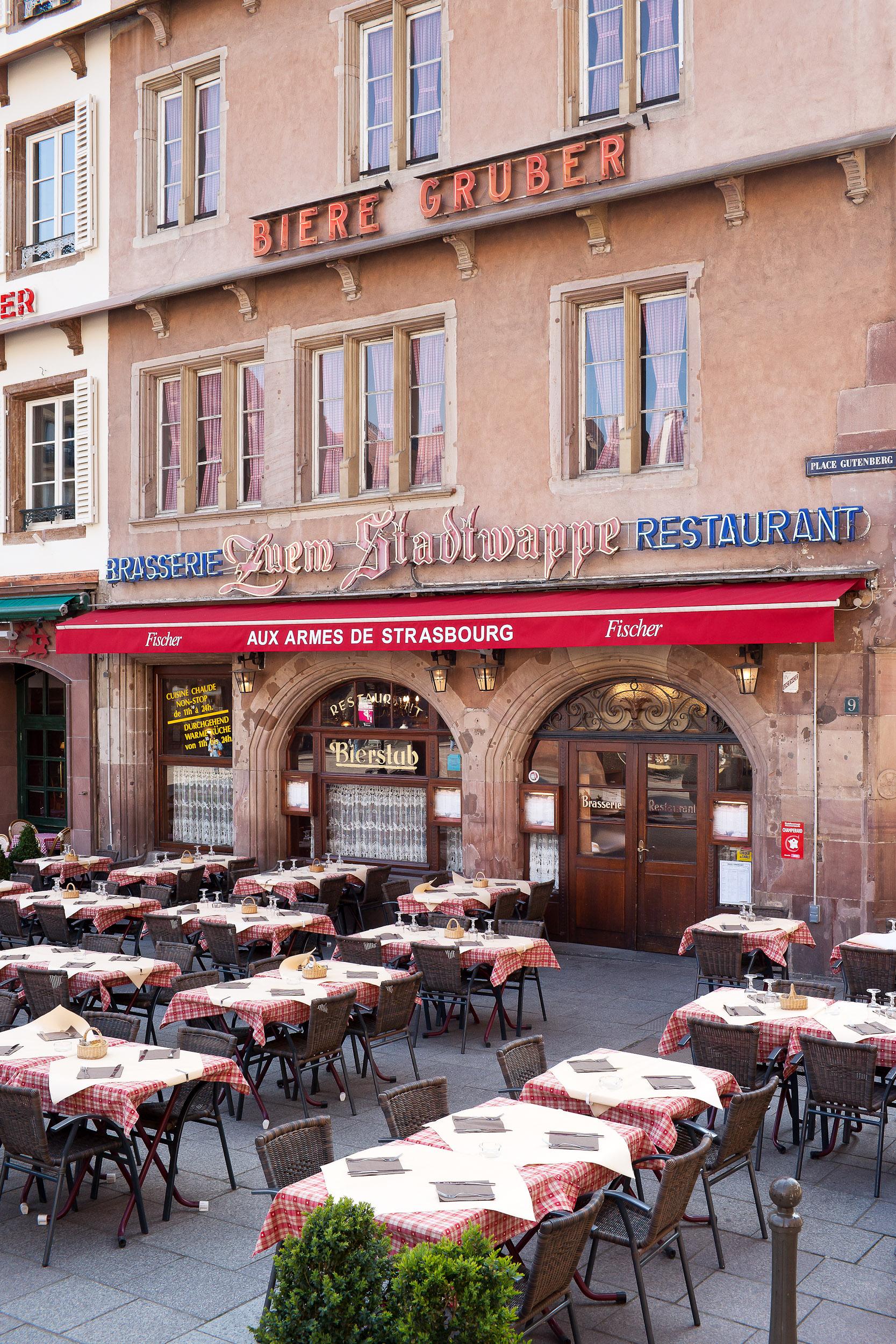 Restaurant aux armes de strasbourg strasbourg - Restaurant jardin de l orangerie strasbourg ...