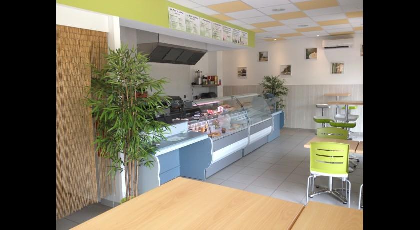 restaurant sandwicherie saladerie la fleur de l 39 hortus saint cl ment de rivi re. Black Bedroom Furniture Sets. Home Design Ideas