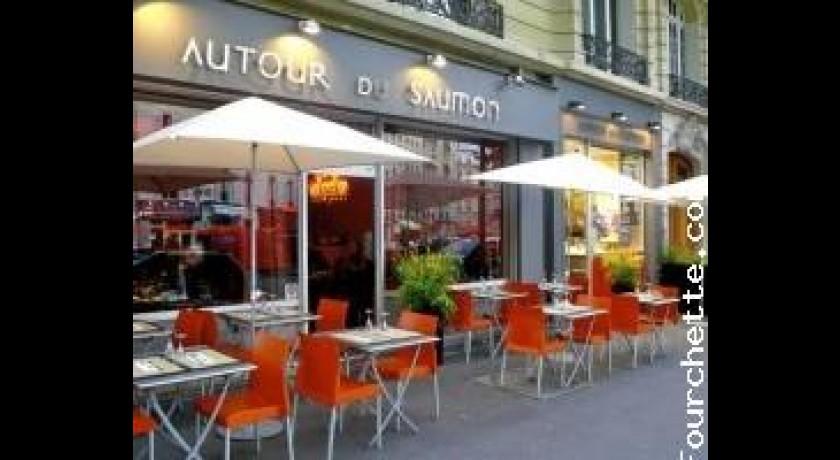 restaurant autour du saumon villiers paris. Black Bedroom Furniture Sets. Home Design Ideas