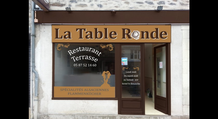 Restaurant La Table Ronde Uzerche