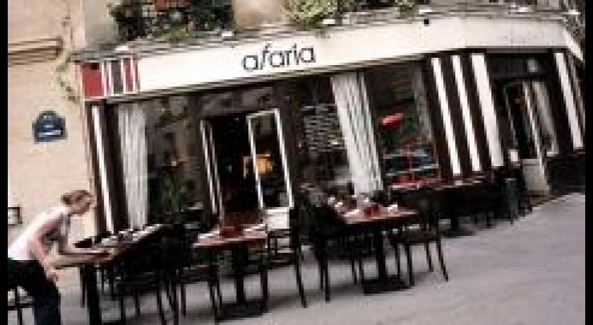 Restaurant Afaria Paris