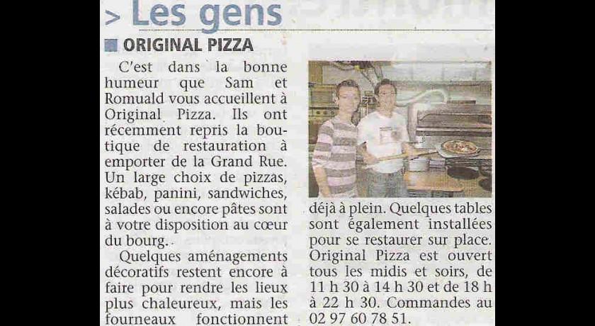 Restaurant Original Pizza Grand-champ restaurant Grand-Champ