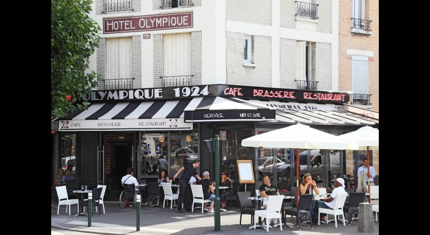 restaurant olympique 1924 la garenne colombes. Black Bedroom Furniture Sets. Home Design Ideas