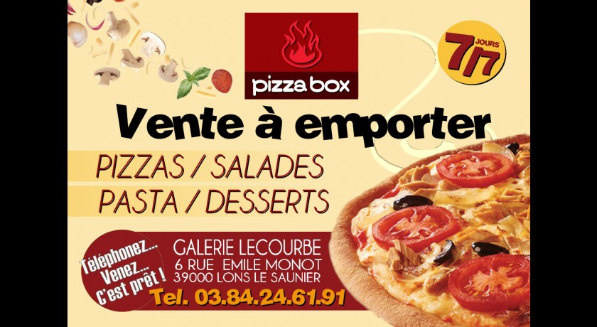 Restaurant pizza box lons le saunier - Cuisine lons le saunier ...