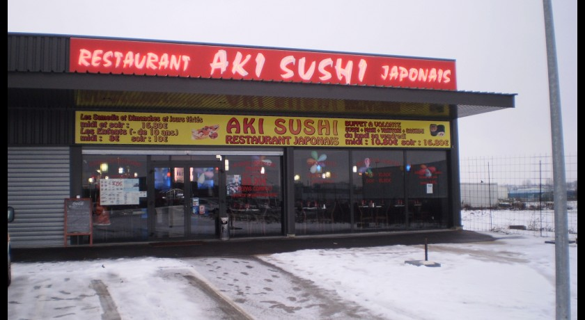 Restaurant japonais aki sushi creney pr s troyes for Creney pres troyes