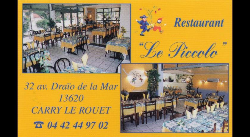 Restaurant le piccolo carry le rouet for Resto carry le rouet