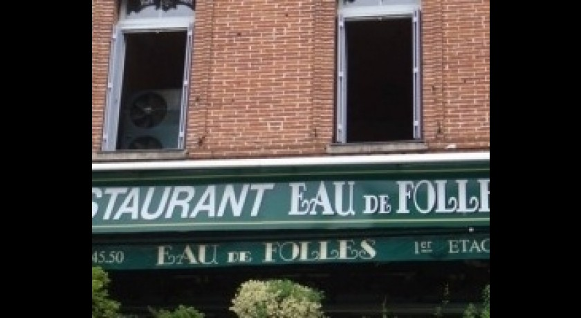 Restaurant Eau De Folles Toulouse