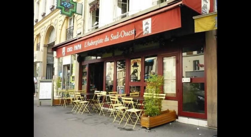 restaurant chez papa grands boulevards paris. Black Bedroom Furniture Sets. Home Design Ideas