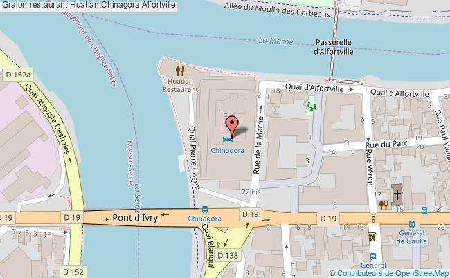 plan restaurant huatian chinagora alfortville - Chinagora Mariage