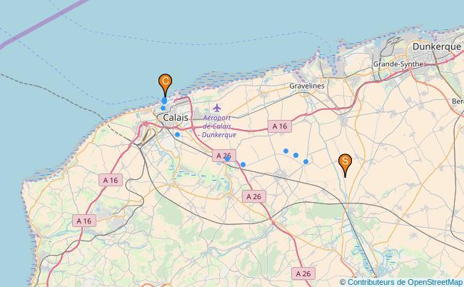 plan Canal de Calais
